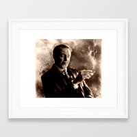boardwalk empire Framed Art Prints featuring Boardwalk Empire - Nucky Thompson by p1xer