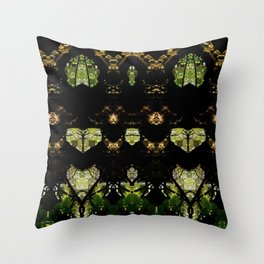 Tree Geometry Throw Pillow
