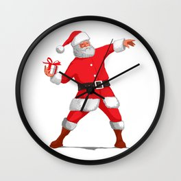 throw gifts Wall Clock