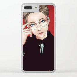 Minseok (EXO) Clear iPhone Case