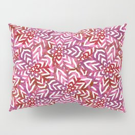 I don't need to improve - Pink and red Pillow Sham