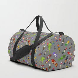 Butt of Superhero Villian - Dark Duffle Bag