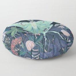 Luna Moth Floor Pillow