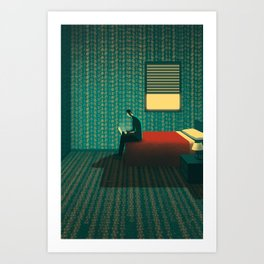 Room of Numbers Art Print