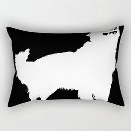 Super dog Rectangular Pillow