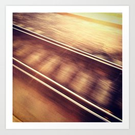 Track Art Print