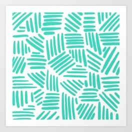 blueline Art Print