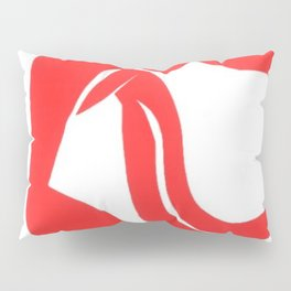 Henri Matisse, Rouge Freedom, Nude (Red Freedom, Nude) lithograph modernism portrait painting Pillow Sham