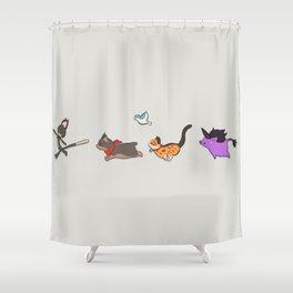 Minion March 1 Shower Curtain