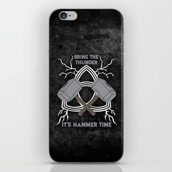 Thor - Hammer Time iPhone & iPod Skin