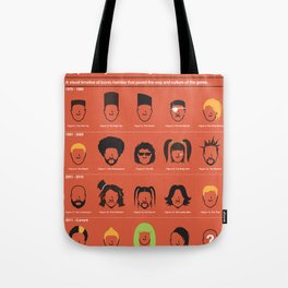 The Evolution Of Hip-Hop Hairstyles Tote Bag