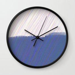 Rain Hills Wall Clock