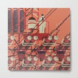 SKINWALKER Art 3 Metal Print