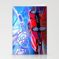 ferrari Stationery Cards featuring Ferrari Enzo by JT Digital Art