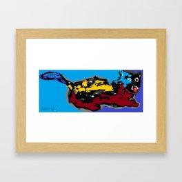 Cat (260313) Framed Art Print