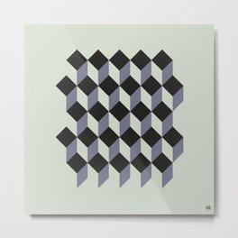 BottomAndShapeII/ Metal Print