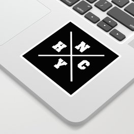 New York hardcore Sticker