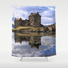 Eilean Donan Castle Scotland Shower Curtain