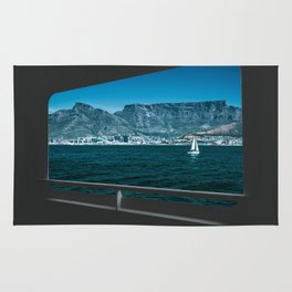 Table Mountain & V&A Waterfront from a Boat Rug