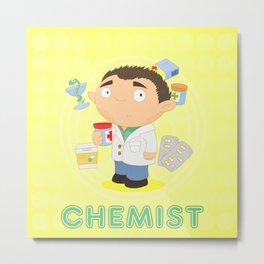 CHEMIST Metal Print