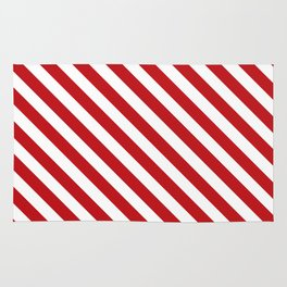 peppermint stick Rug