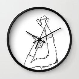 Designer Print Wall Clock