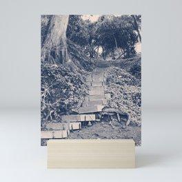 Stairs to Nowhere II Mini Art Print