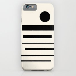 Abstract Composition 11 iPhone Case