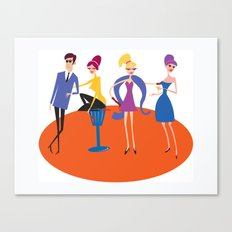 The Nice Gang Canvas Print