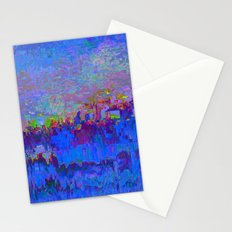 08-20-13 (Skyline Glitch) Stationery Cards