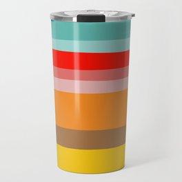 Color Stripes Travel Mug