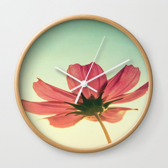 Vintage Airy Cosmos Wall Clock