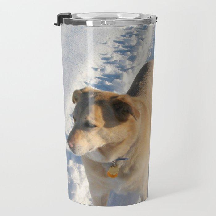 Dogs   Dog   Waiting Dog   Golden Lab Travel Mug