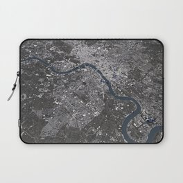 London City Map II Laptop Sleeve