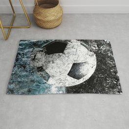 Modern soccer version 1 Rug