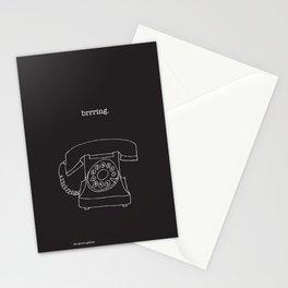 Vintage Telephone Negative Stationery Cards