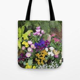 Floral Spectacular - Spring Flower Show Tote Bag