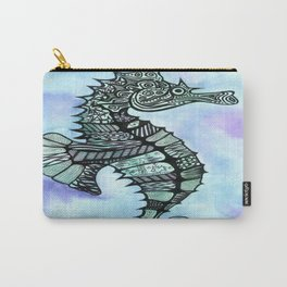 Tatoo Seahorse Carry-All Pouch