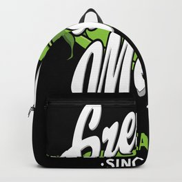 Biology Gregor Mendel Motive Backpack