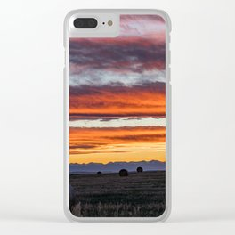 Gallatin Valley Clear iPhone Case