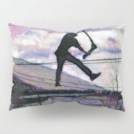 Deck Grab Champion - Stunt Scooter Art Pillow Sham