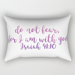 Isaiah 41:10 Rectangular Pillow