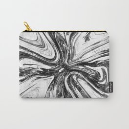 Abstract Cross - Watercolor Carry-All Pouch