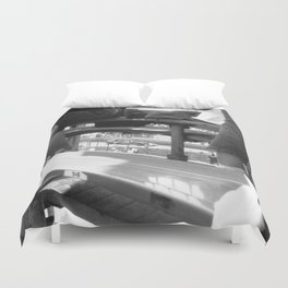 through to tabac Duvet Cover