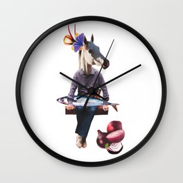 Just hanging out Wall Clock