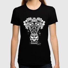 Power Tiki Girl - Hibiscus T-shirt