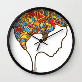 Musical Mind Wall Clock