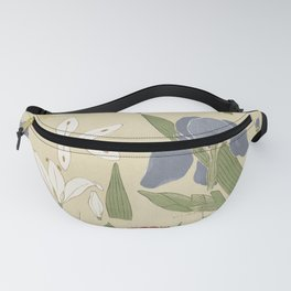 Leaves and Flowers Fanny Pack