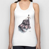 givenchy Tank Tops featuring Audrey Hepburn in Pink dress vintage fashion by Notsniw