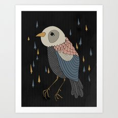DREAM BIRD Art Print